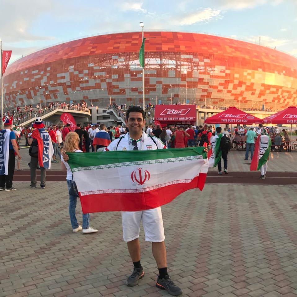 جام جهانی برای تیم ما تمام شد اما زندگی جاریست. به امید سلامتی و شادی و رفاه برای هموطنانم. از تک تک شما عزیزان که همراهمان بودید سپاسگزارم.